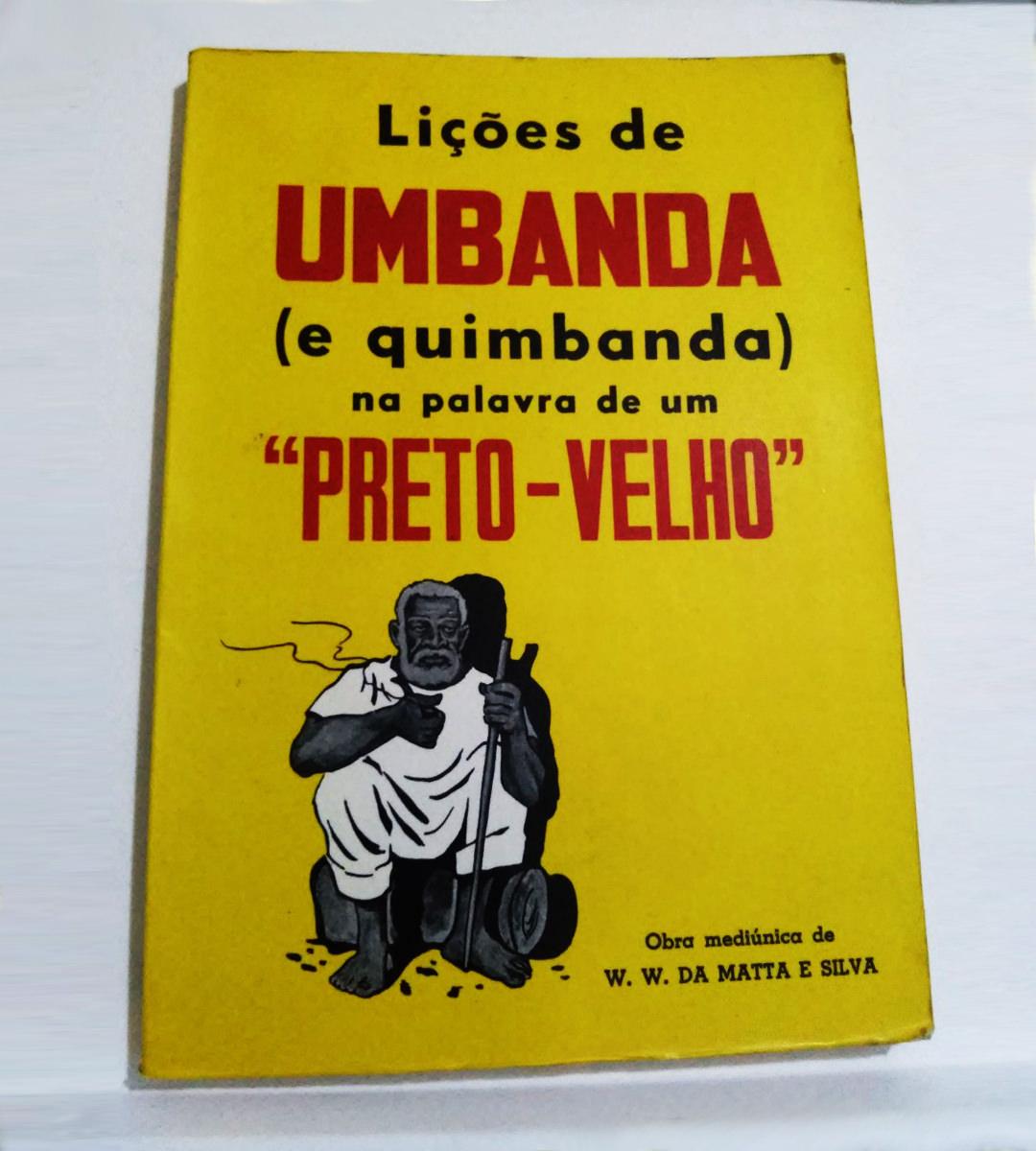 Imagem do livro lições de umbanda
