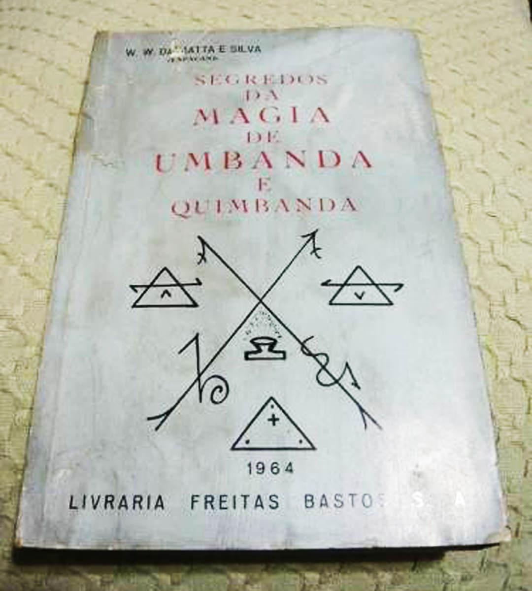 Imagem do livro o segredo da magia da umbanda e quimbanda