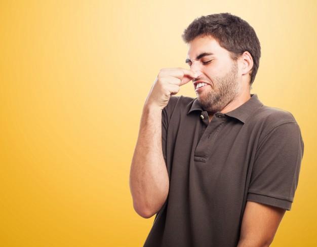 Cheiro, queda, preceder morte