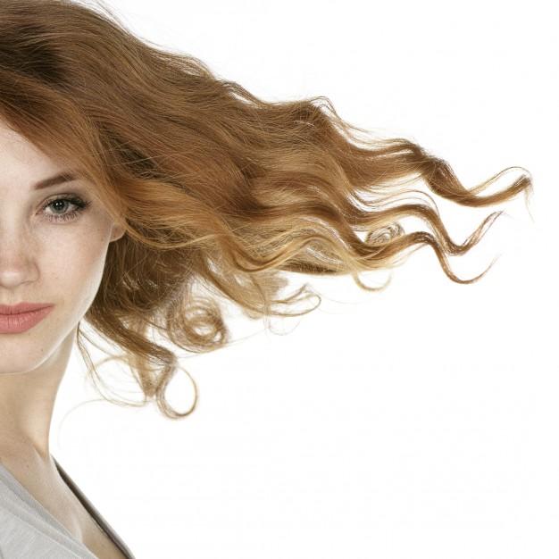 Azeite, cabelo