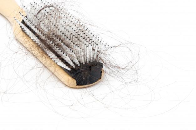 Quebra de cabelo, reparar