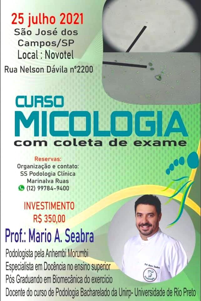Curso em Julho dado pelo Mario A. Seabra Neto