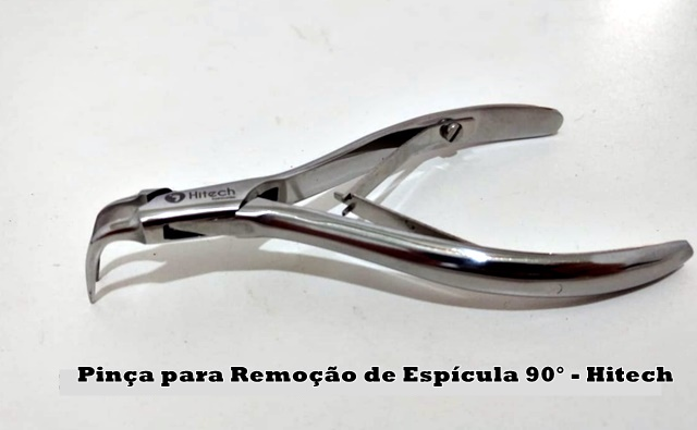Pinça Hitech- Pinça 90° para Remoção de Espícula