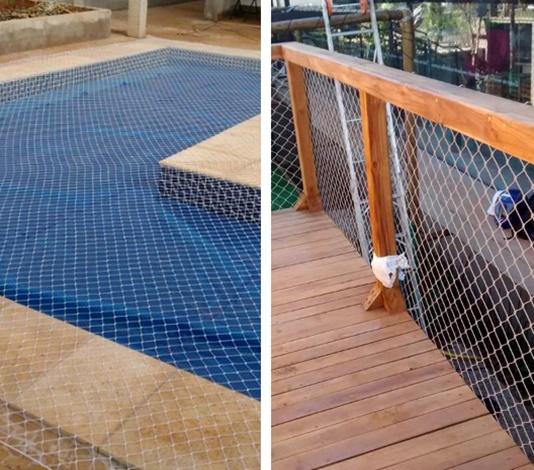 Proteção para piscinas e outros