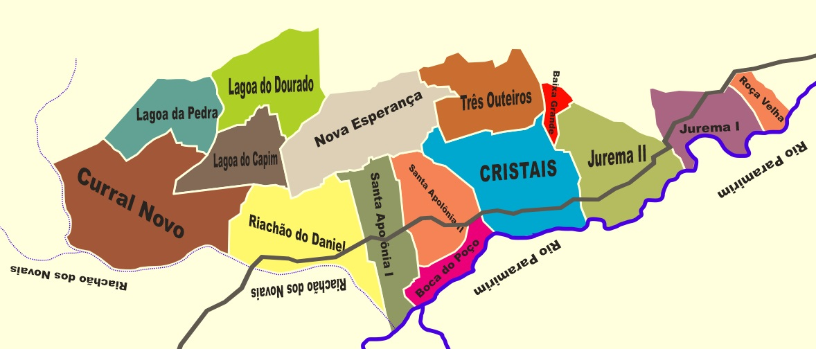 Distrito Cristais, Macaúbas, Bahia