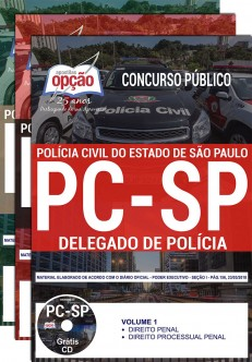 APOSTILA DELEGADO DE POLÍCIA