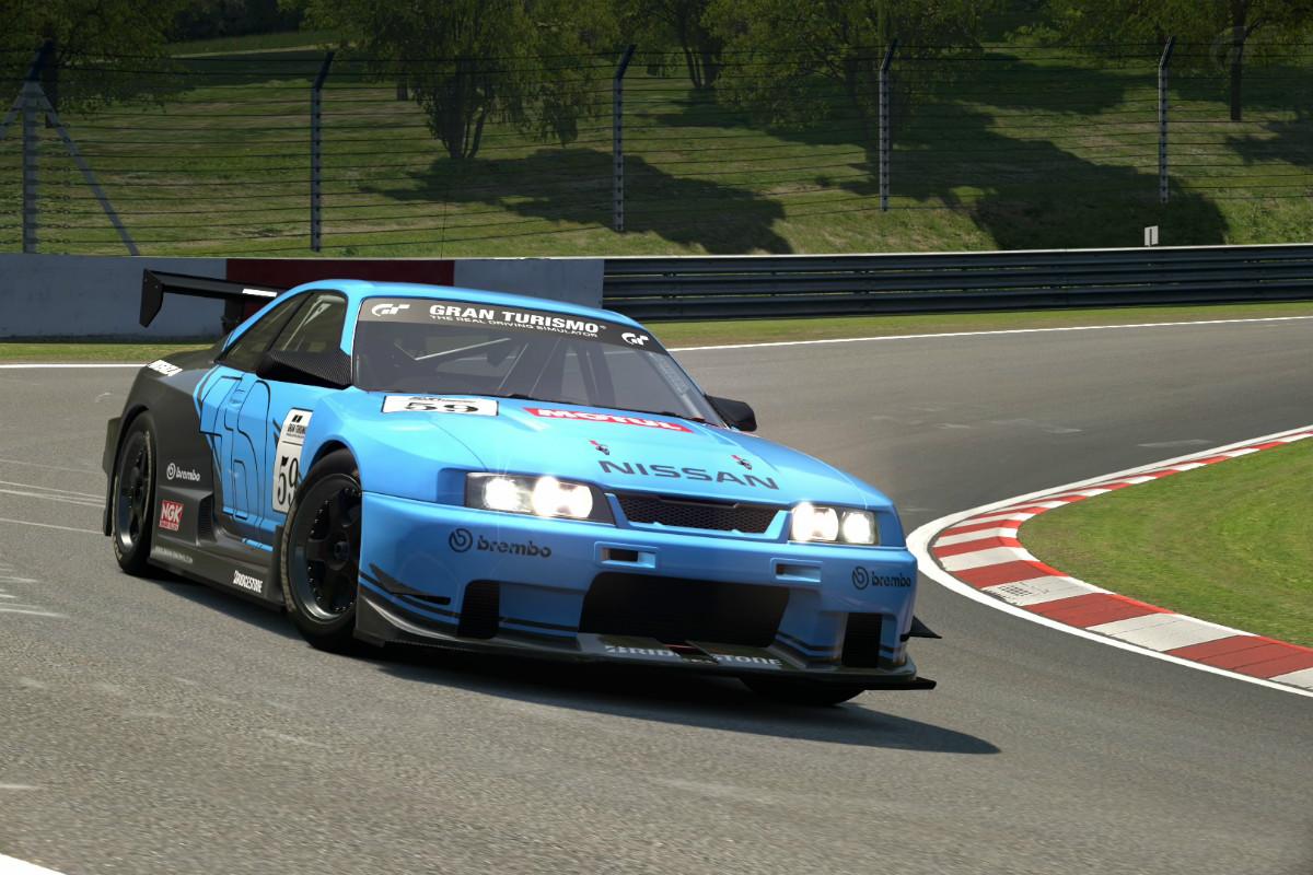 Nissan Skyline Gt R R33 Touring Car