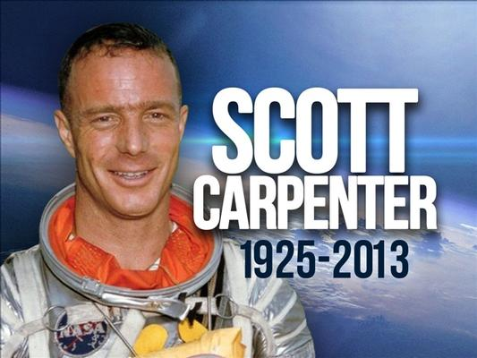 Astronauta Scott Carpenter