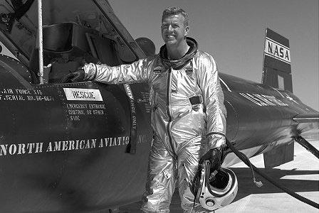Joseph A. Walker - Piloto de testes da NASA