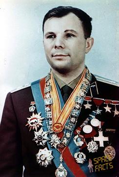 Yuri Gagarin - Astronauta medalhado