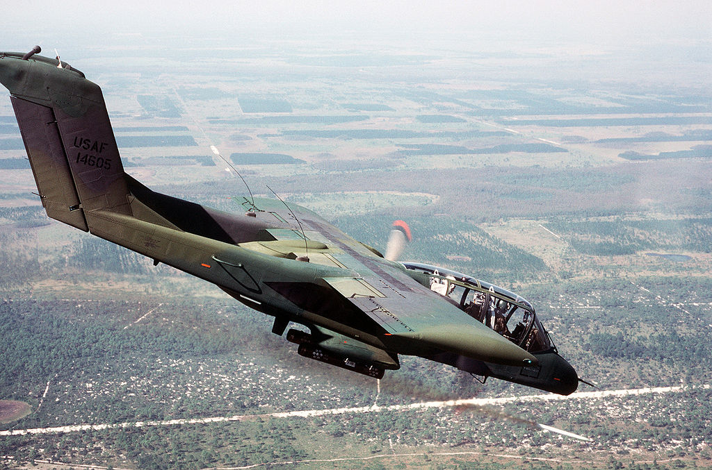 North American & Rockwell OV-10 Bronco