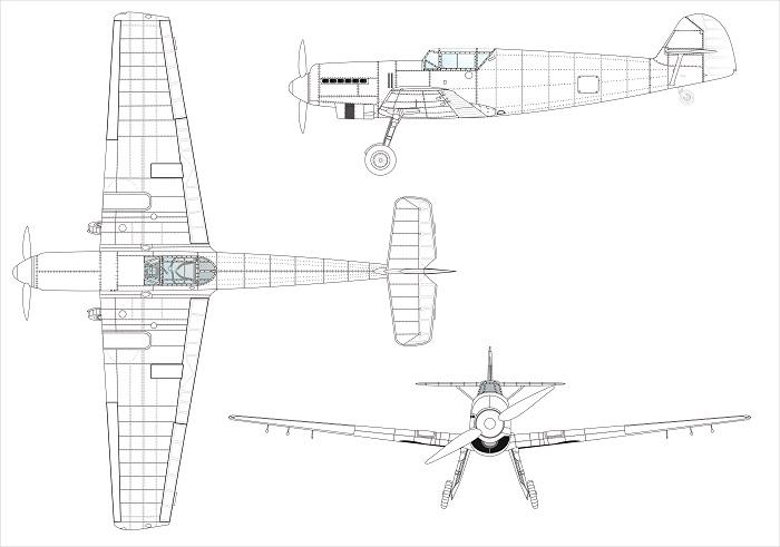 Messerschmitt Bf 109 A-D