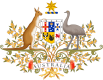 Brasão de armas-Austrália