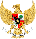 Brasão de armas.Indonésia