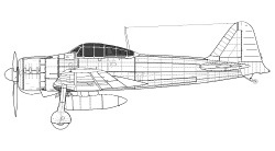 Mitsubishi A6M2 - Model 21