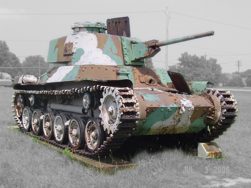 Type 97 ShinHoTo Chi-Ha medium tank