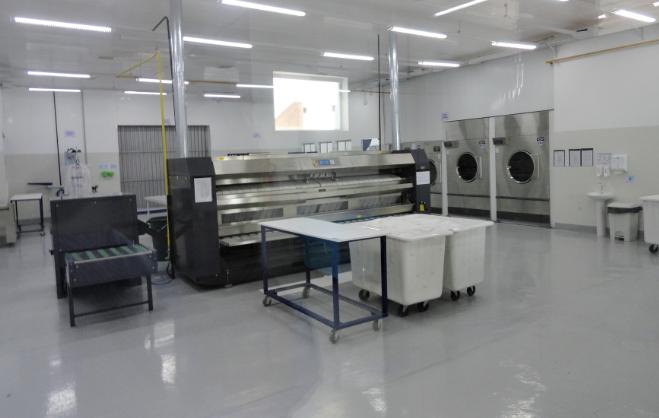 Área Limpa calandra e secadoras