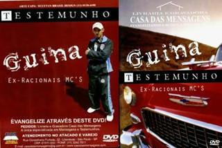 o testemunho do guina dvd