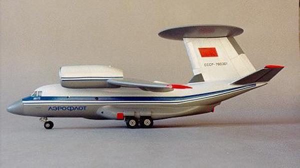 """Amodel 1//144 ANTONOV An-71 /""""MADCAP/"""" Soviet AWACS Prototype"""
