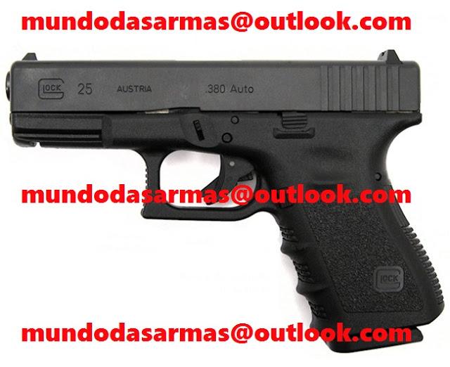 Pistola Glock G25 calibre 380 a venda