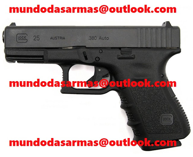 Pistola Glock G25 calibre 380