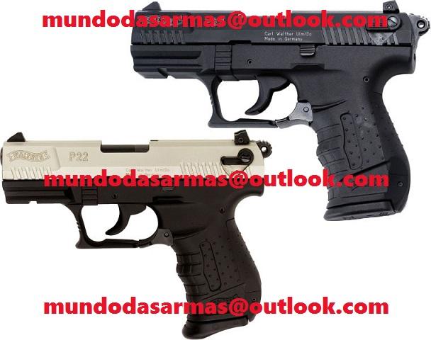 Pistola Walther p22 calibre 22