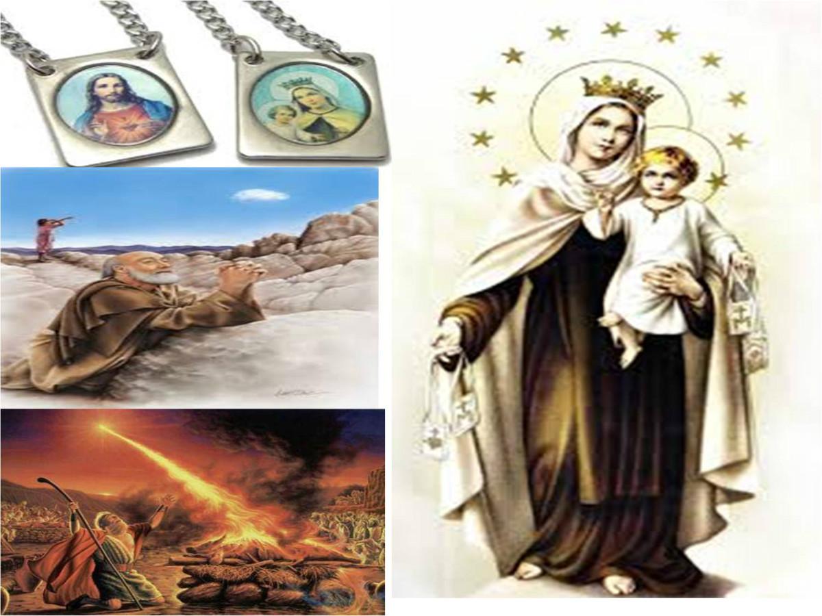 Nossa Senhora do Carmo, o Escapulário e o Profeta Elias (I Reis 18)