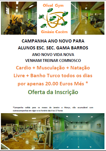 flyer gama barros