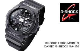 59464faaddc Relógio Casio G-Shock GA-150 - Super lançamento resistentes a choque! REF.  COR3025 R  260