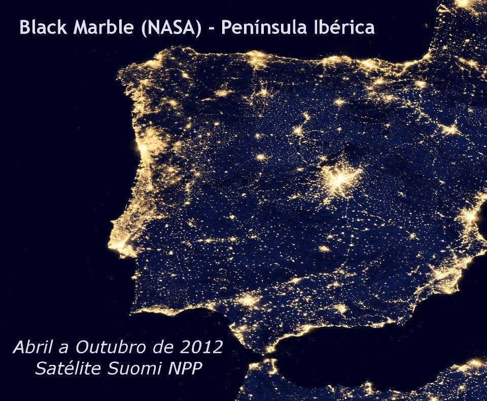 Mapa da P.Ibérica
