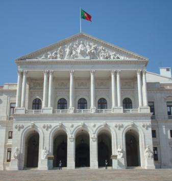 Assembleia da República, Lisboa.