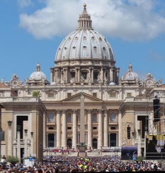 Basílica de São Pedro, Vaticano.