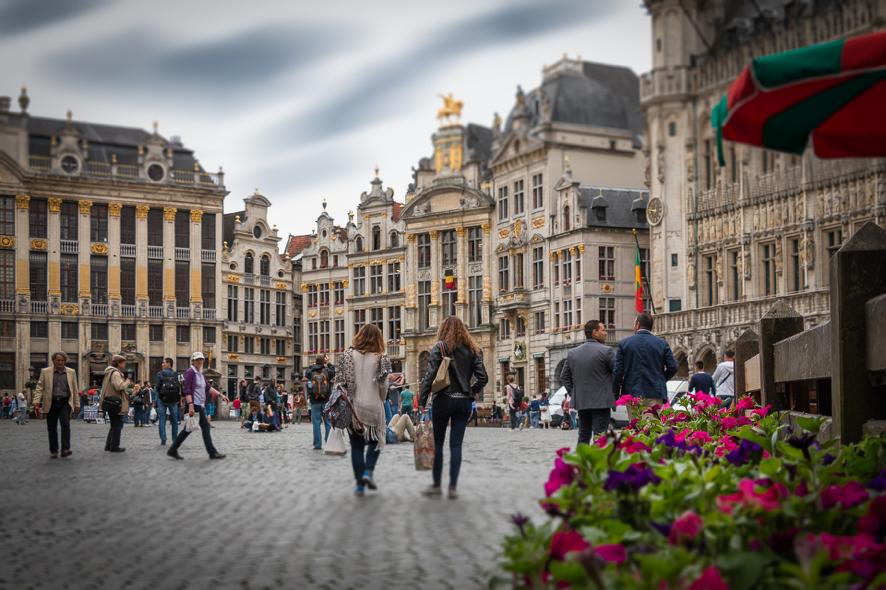 Cidade de Bruxelas, Bélgica.