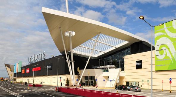 Centro comercial Leiria Shopping, a nova centralidade da cidade.