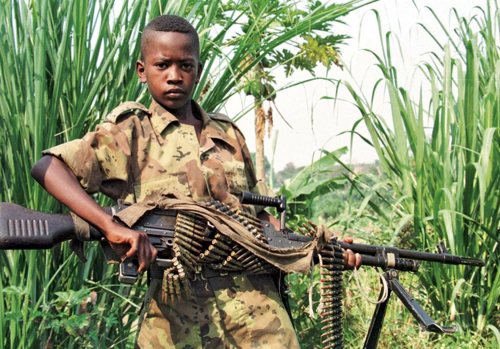 Criança soldado.