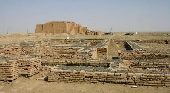 Grande zigurate de Ur, Iraque.