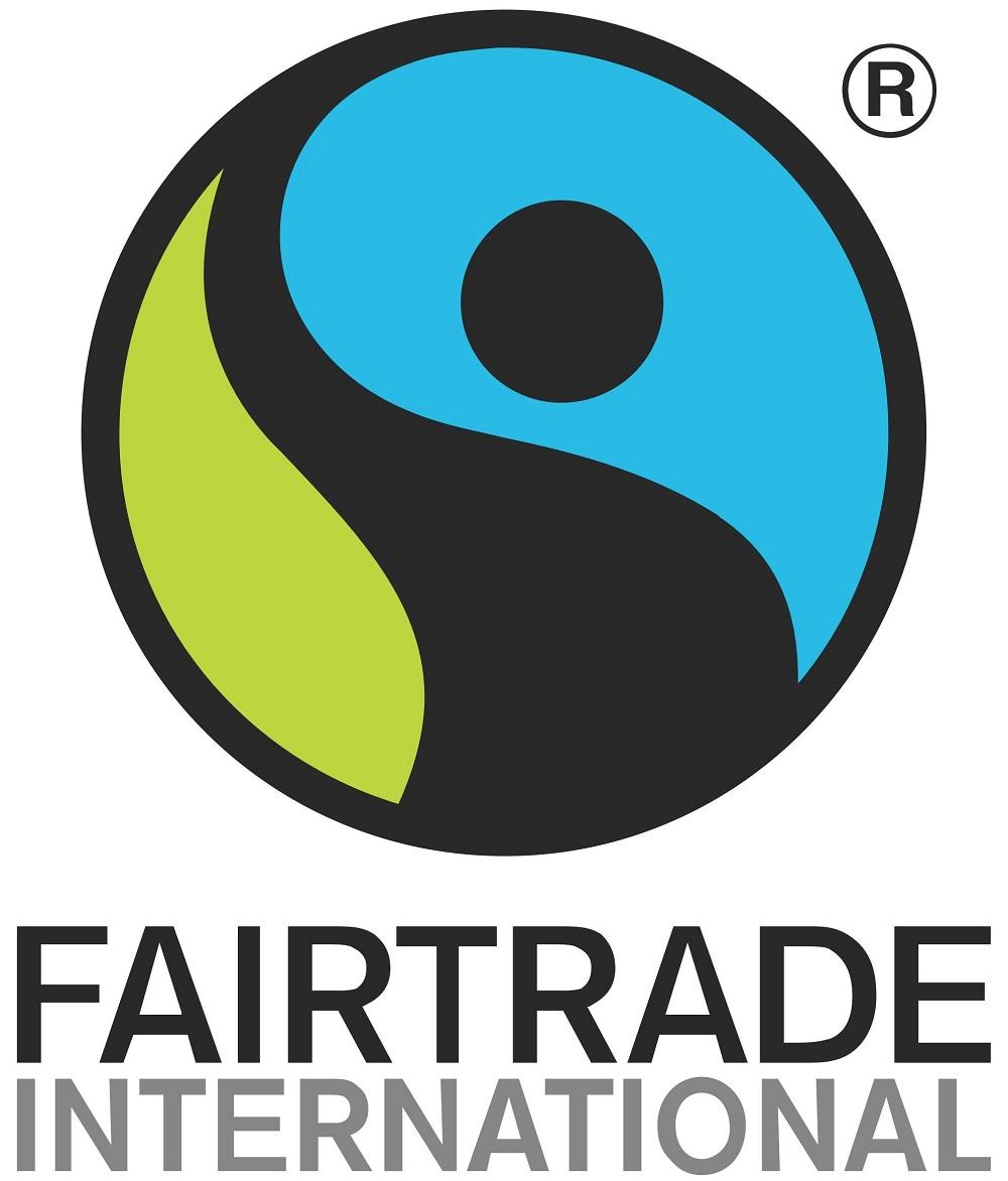 Logótipo do comércio justo.