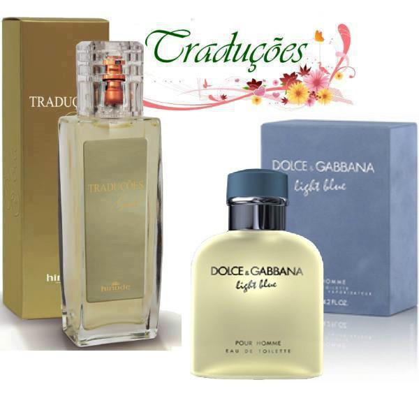 Compre Perfume D&G Light Blue Importado Hinode por 99,60