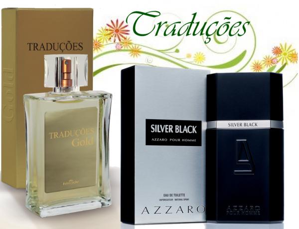 Compre Perfume Azzaro Silver Black 100ml Importado Hinode por 100,00