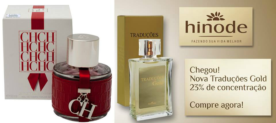Compre Perfume CH Red Carolina Herrera Hinode por 100,00