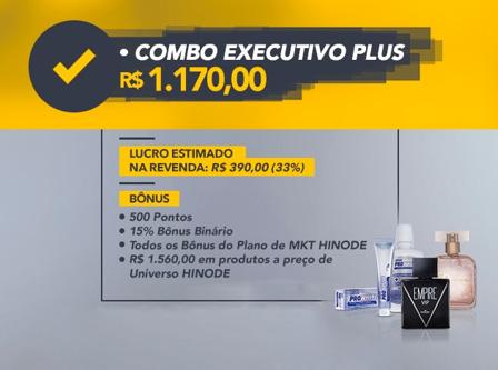 Combo Plus vem 1560,00 de produtos