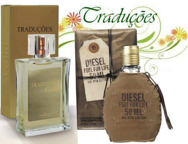 Compre Perfume Diesel fuel for life Importado Hinode por 100,00
