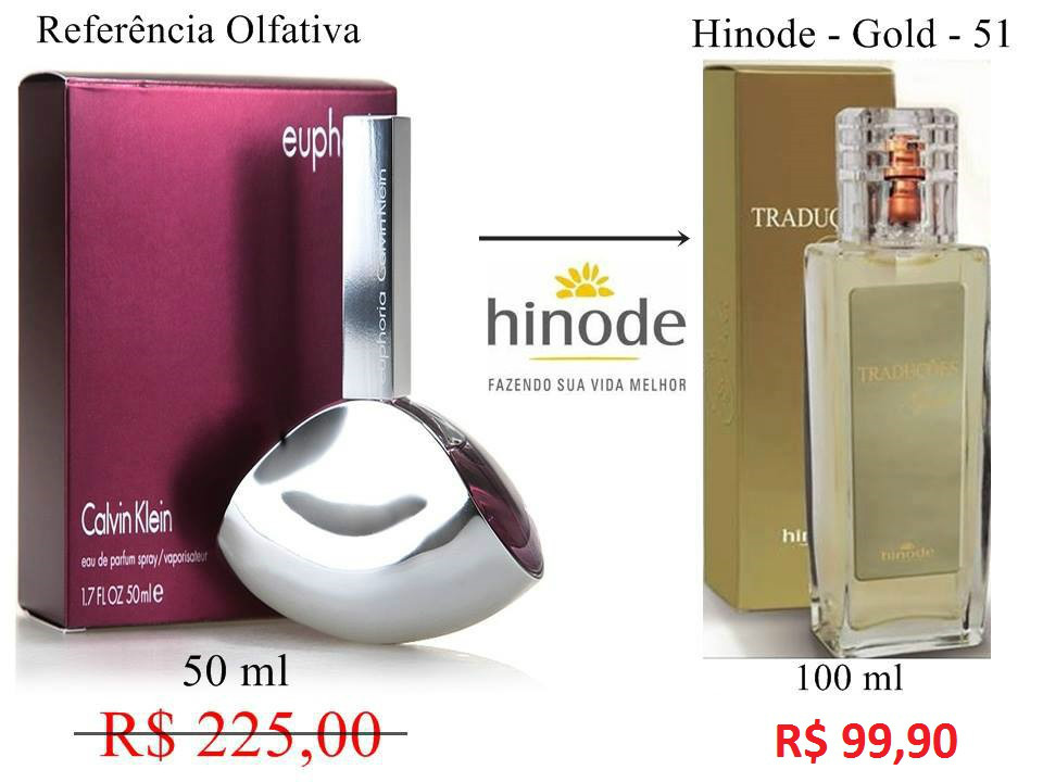 Compre Perfume Euphoria Importado Hinode por 100,00