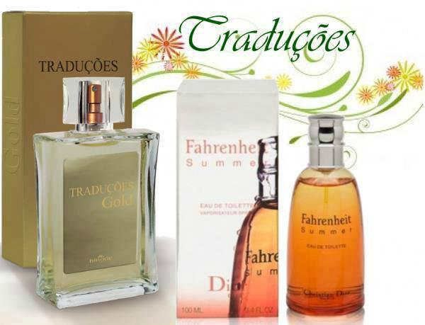 Compre Perfume Importado Fahrenheit Summer grife Hinode, 100,00