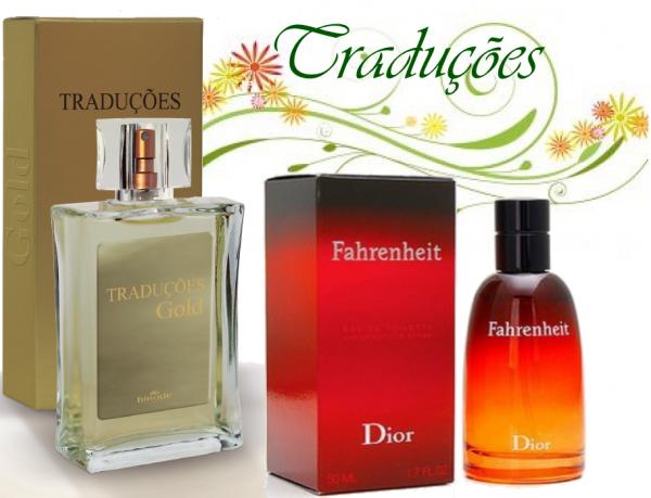 Compre Perfume Fahrenheit tradicional Importado Hinode por 100,00