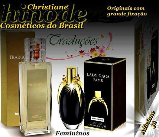 Compre Perfume Lady Gaga Fame Importado Hinode por 100,00