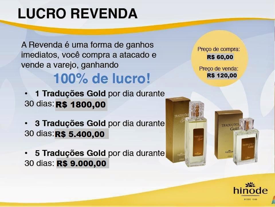 Venda 1 perfume por dia e ganhe 1800 por mês