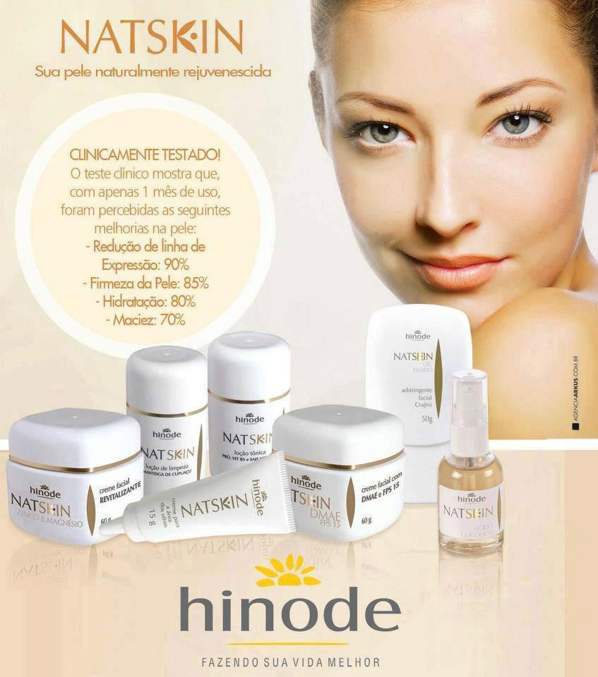 Linha Natskin Hinode venha vender estes produtos Dmae. Faça seu cadastro no site www.hinode.com.br ID 96036