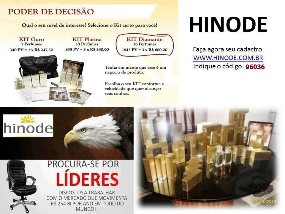 Compre o kit Diamante Inspiração e comece o melhor negocio próprio na sua cidade www.hinode.com.br ID 96036