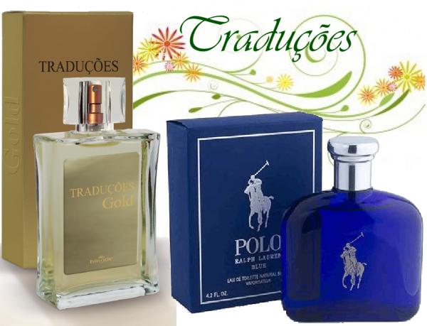 compre Perfume Polo Blue Importado Hinode por 100,00